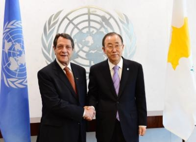 President Anastasiades holds telephone conversation with UNSG
