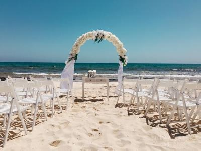 Thomas Cook recommends Ayia Thekla beach in Cyprus as the perfect place for civil weddings