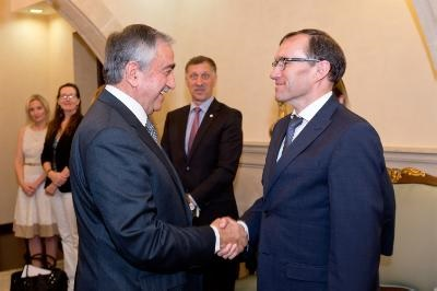 Eide expresses readiness to meet President Anastasiades when he is ready