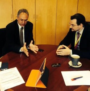 Cyprus' Minister of Education attends the EU Council of Youth, Culture and Education