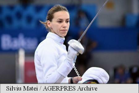 Romania's Gherman wins gold medal in European championships epee individual, Popescu wins silver