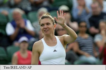 Tennis: Simona Halep through to Wimbledon second round