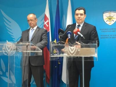 Slovakia committed to a Cyprus solution, says the country's Defence Minister