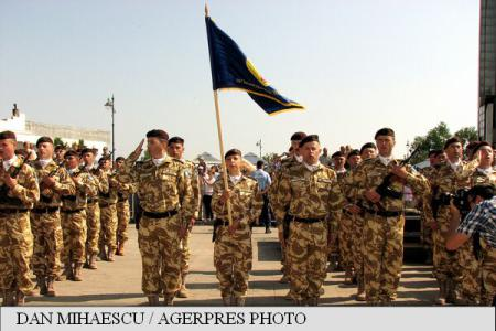 Romania's White Sharks infantry battalion heads to Afghanistan