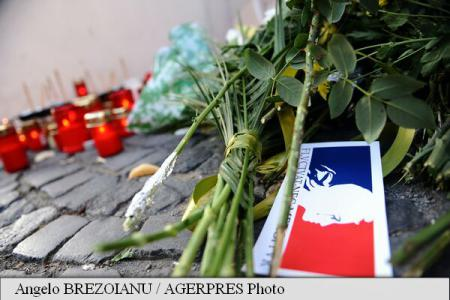Condolence book opens at French Embassy; tightened security at French organisations in Romania