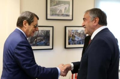 Negotiators to discuss agenda of Tuesday's meeting between Anastasides-Akinci