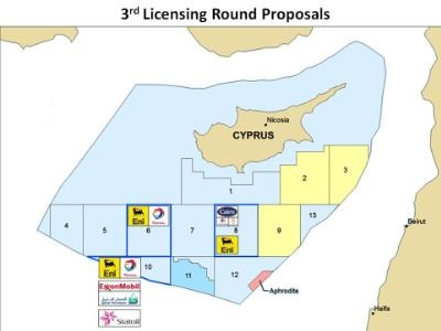 Oil&Gas majors submit applications for third licensing round in Cyprus EEZ