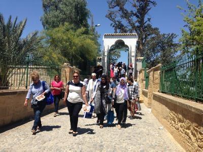Hundreds make pilgrimage to Hala Sultan Tekke