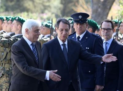 Greek President to pay Cyprus a short visit today