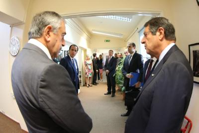 President Anastasiades and Mustafa Akinci have 2nd meeting of intensified talks