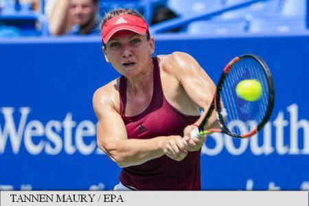 Tennis: Simona Halep reaches Cincinnati quarterfinals easily