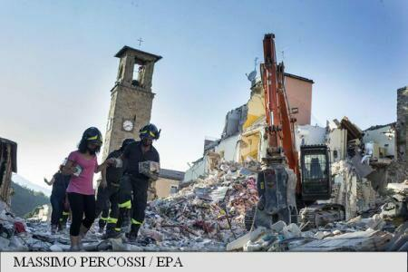 MAE: 50 Romanian families affected by Italy earthquake to receive government aid