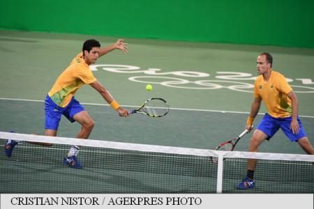 Rio 2016: Romania's Mergea and Tecau advance to Olympic men's doubles semis