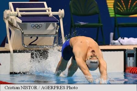 Rio 2016: Romanian swimmer Glinta advances to 100-m backstroke final