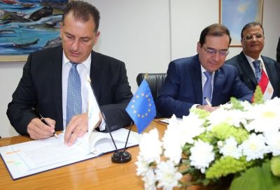 Cyprus and Egypt sign agreement on transport of natural gas via sub-sea pipeline
