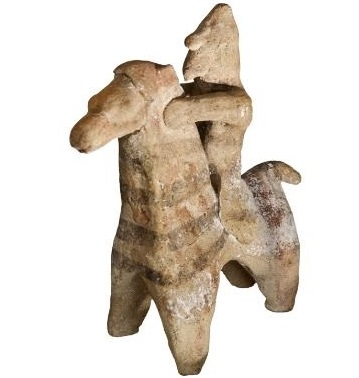 Repatriation to Cyprus from UK of ancient clay figurine