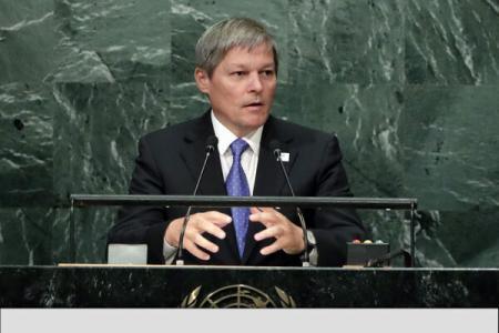 New York: PM Ciolos discusses Romania's bid for non-permanent seat at UN Security Council, migration crisis
