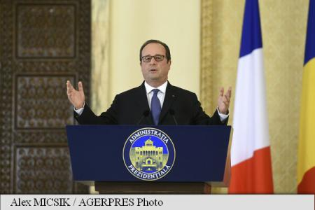 France's Hollande: We want France to contribute solutions for Romania's economy