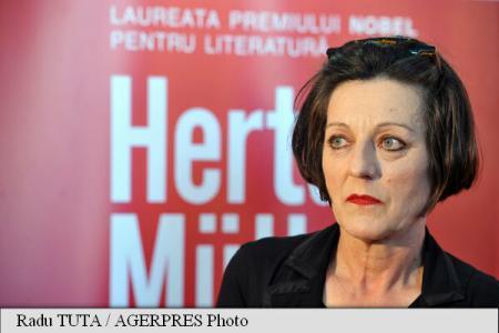 Romania's stand at Goteborg Bok&Bibliotek Book Fair to host Nobel prize winner Herta Muller