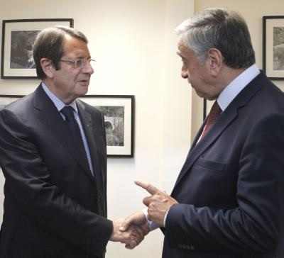 Anastasiades-Akinci to hold a new meeting today