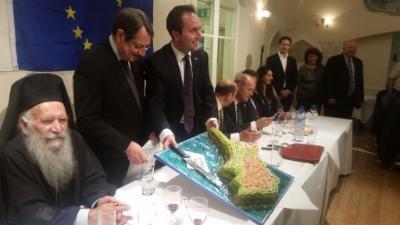 President Anastasiades briefs London expats on Cyprus talks