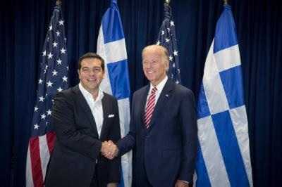 Biden and Tsipras welcome Cyprus leaders' commitment to a settlement