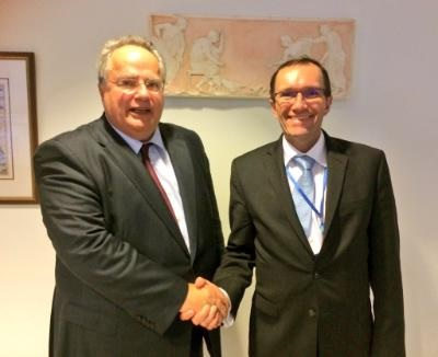 Outstanding issues in a Cyprus solution need to be overcome, says Eide