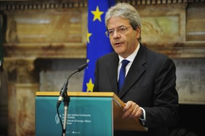 Italian FM on official visit to Cyprus