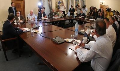 Separate National Council sessions to be held on each chapter discussed in Cyprus peace talks