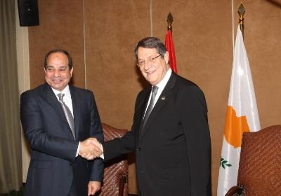 Delegations of Cyprus, Greece and Egypt meet in Cairo
