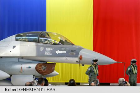 PM Ciolos: First batch of F-16 aircraft, major investment in increasing Romania's defence capabilities