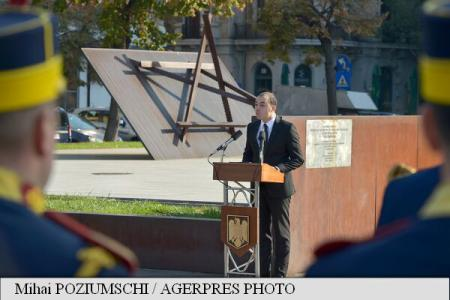 President Iohannis: Honouring Holocaust victims is Romanian state's fundamental duty