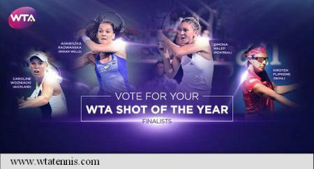 Tennis: Simona Halep, among final WTA Shot Of The Year nominees