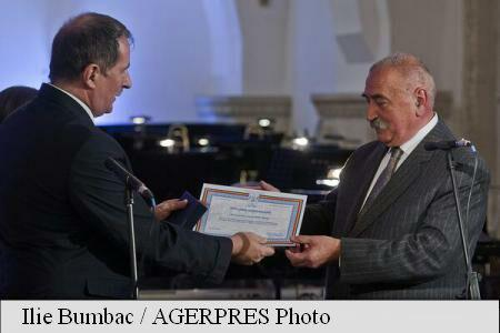 Ioan Opris, Georgeta Filitti and Vasile Parizescu, among 'MNC 25 years' anniversary gala laureates