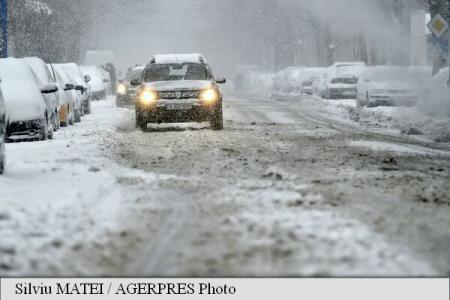 Police: A2 highway Lehliu – Constanta and A4 highway Ovidiu – Agigea closed due to blizzard