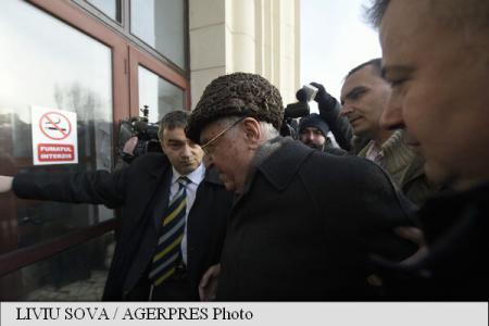 "Ion Iliescu heard in ""Mineriad"" case"