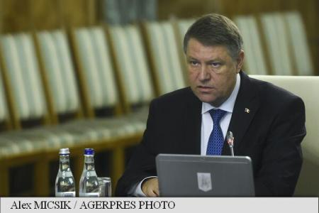 Iohannis at Gov't meeting: I discussed with the PM; I am pleased with how you do your job