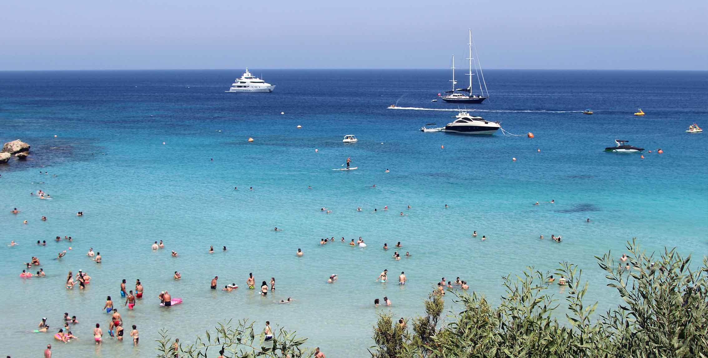 Touristic Protaras Beach / (Protaras) / Ekaterini